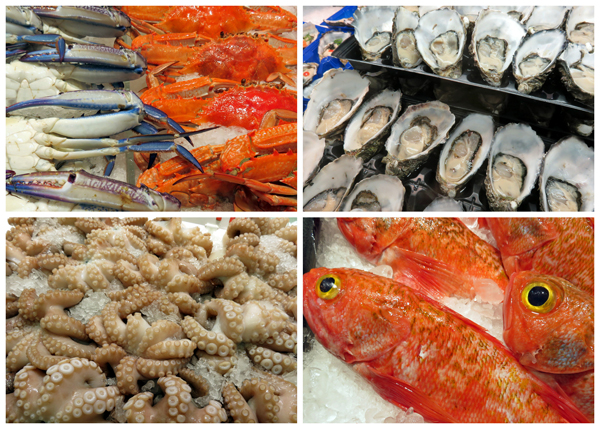 produce at Sydney Fish Markets