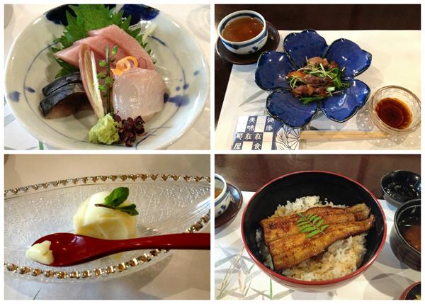 Lunch at Kiku-ya in Omotesando Street, Narita City