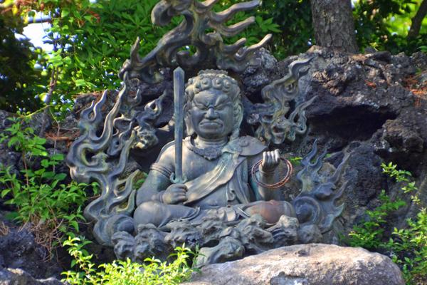 Fudomyo, Naritasan Shinshoji Temple, Narita Japan