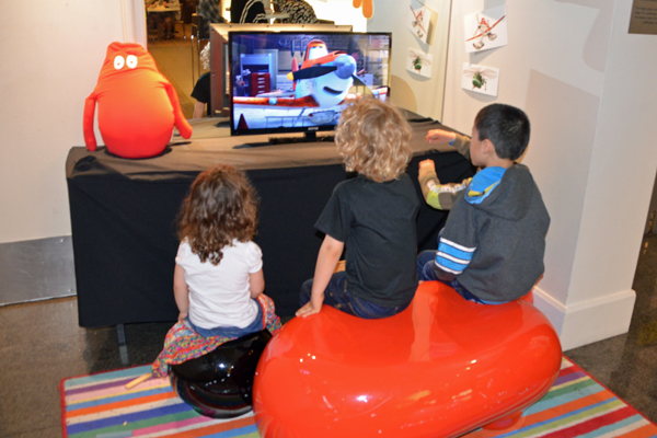 play area in reception at Novotel Sydney Central