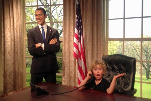Madame Tussauds Barack Obama