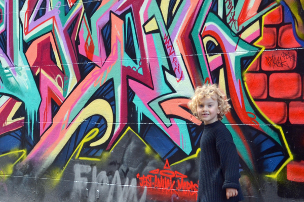Kid in Hosier Lane
