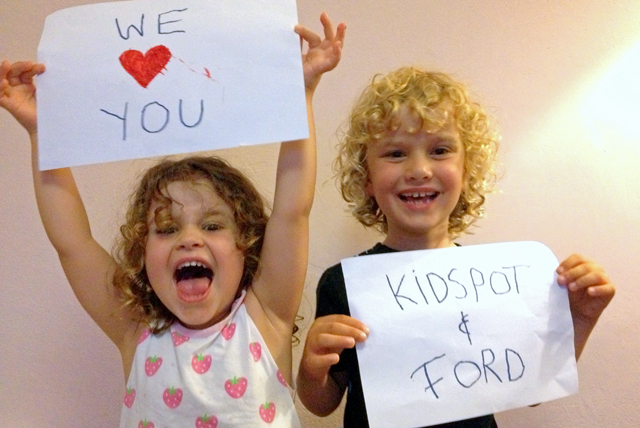 These two love Ford & Kidspot