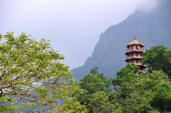 Shrine at Taroko, Taiwan
