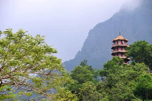 Shrine at Taroko, Taiwan