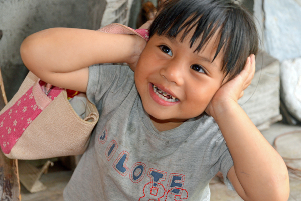 little girl at Hualien, Taiwan