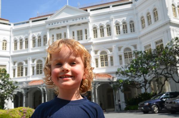 Raffles at Raffles Singapore
