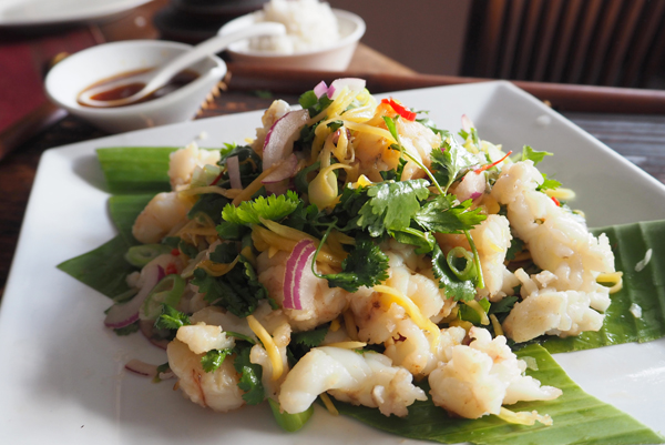 Green Mango Salad with Balmain bug recipe
