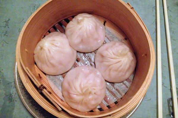 XIao Long Bao at Mr Wong Sydney