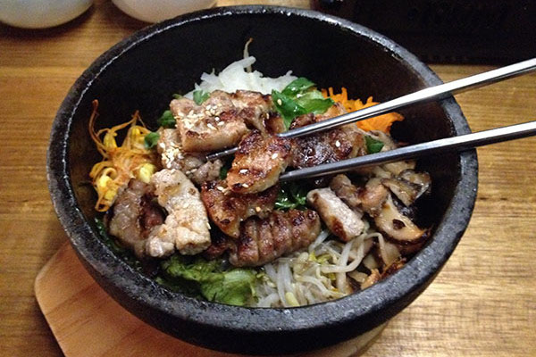 Pork Bibimbap at Soban CHatswood