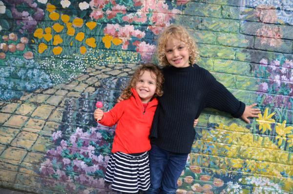 The kids in Leura