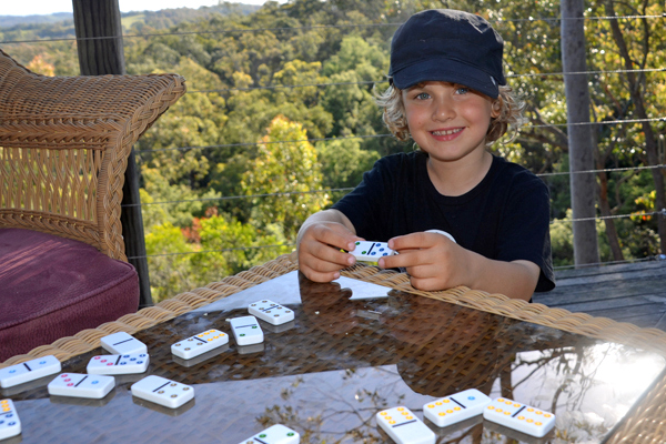 Games at Banjo's Bushland Retreat