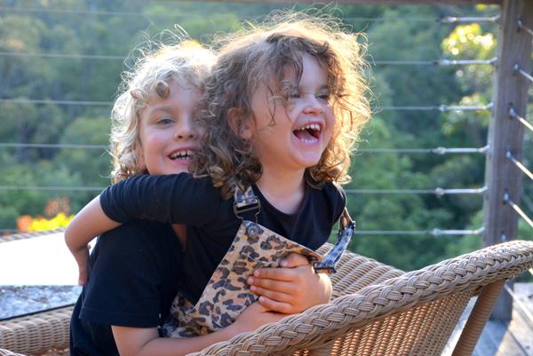 Kids at Banjo's Bush Retreat Hunter Valley