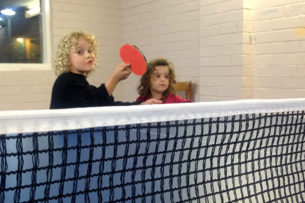 Table tennis at Waldorf Leura Resort