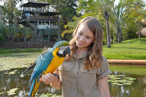 BindiIrwin Bindis Island Australia Zoo.