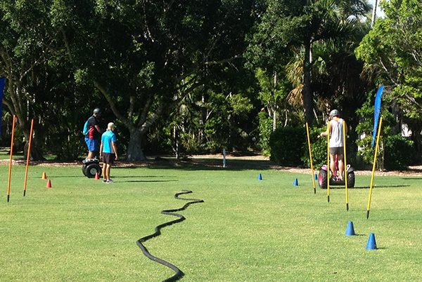 Segway egg and spoon race at Novotel Twin Waters Resort Sunshine Coast #EScapers15