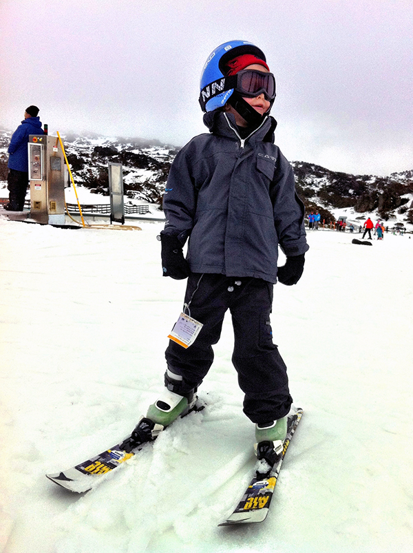 Raffles rocks ski school at Perisher
