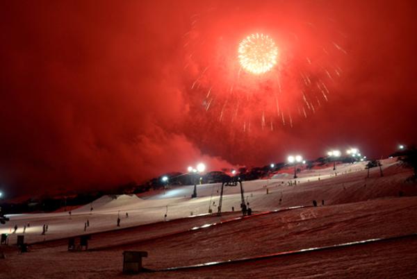 Perisher fireworks