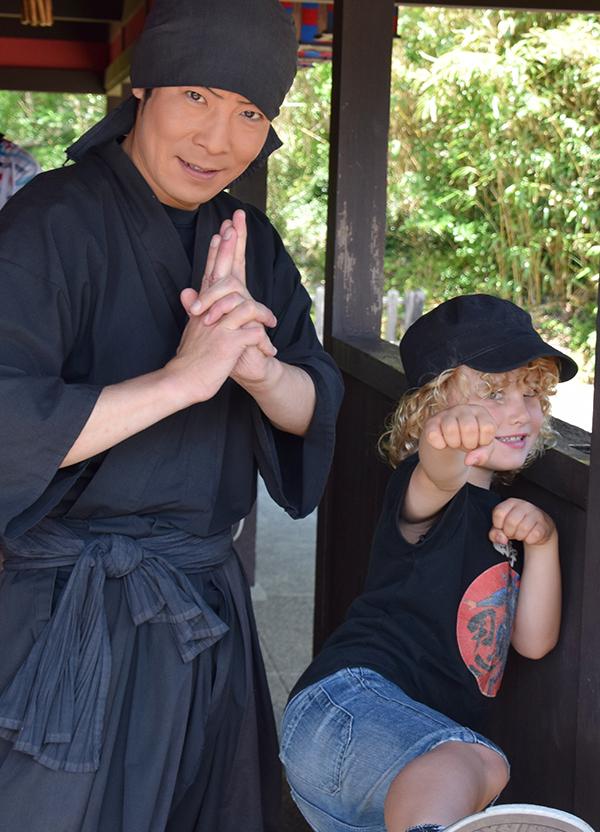 Azuchi Momoyama Bunka Mura (Edo Wonderland) in Ise
