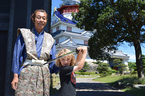 Samurai at edo wonderland ise