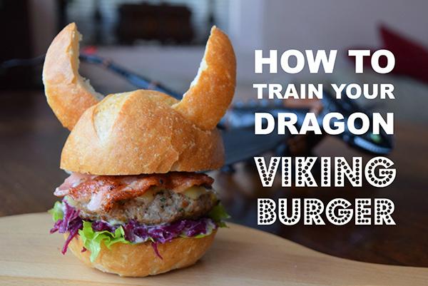 How to Train your Dragon Viking Burger boyeatsworld.com.au