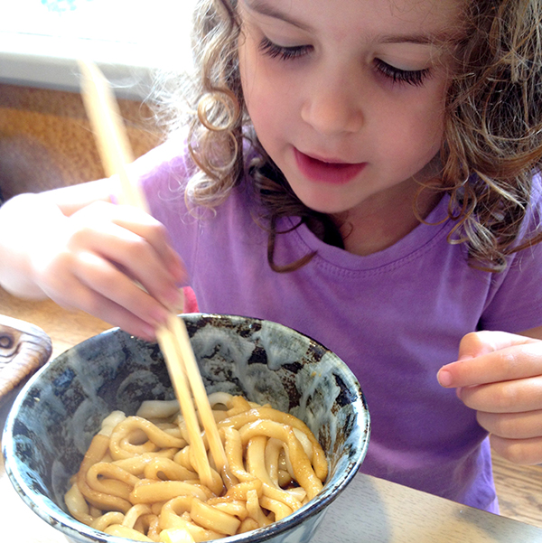 Sugarpuff is hooked on ise udon - Ise Shima with kids