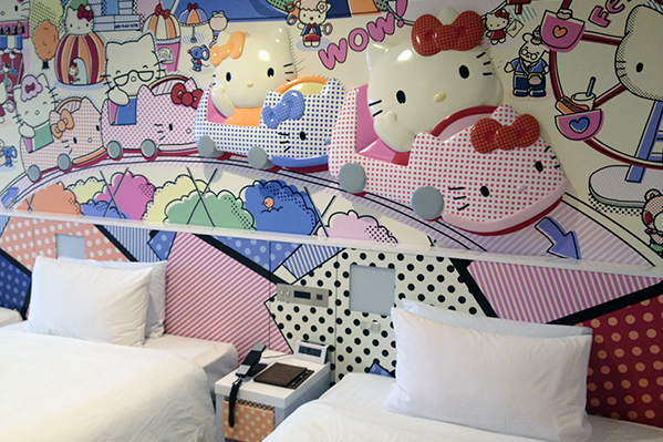 Hello Kitty Town Room at Keio Plaza Hotel Tokyo
