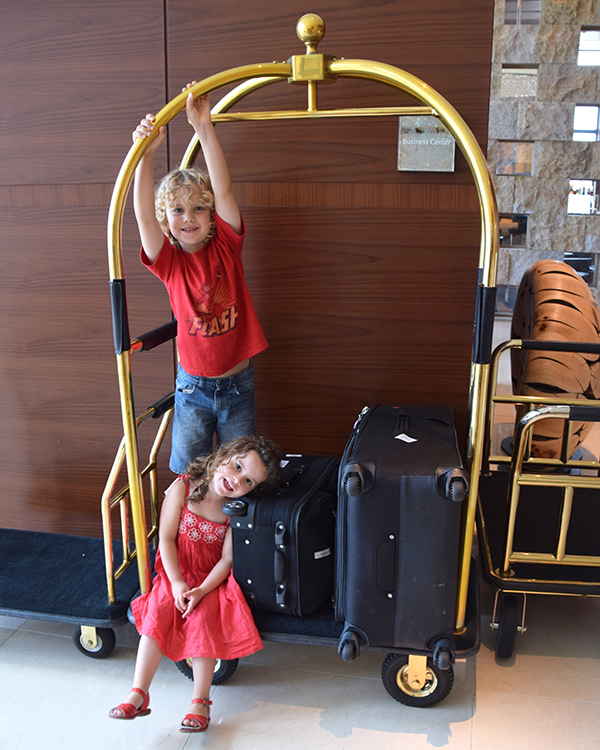 my little baggages at Intercontinental Osaka