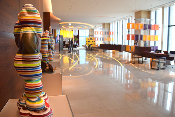 Intercontinental Osaka lobby