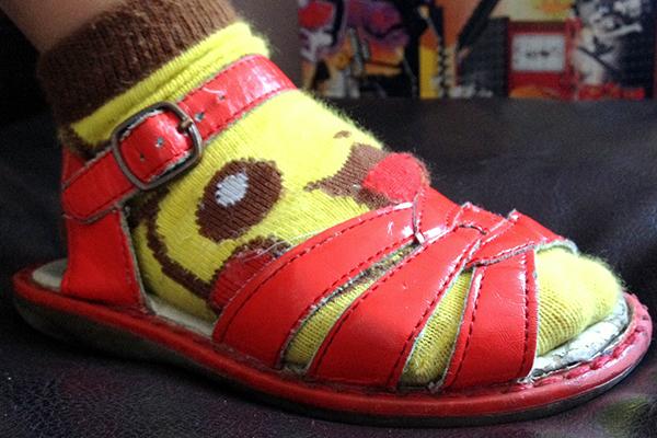 socks and sandals - my worst nightmare