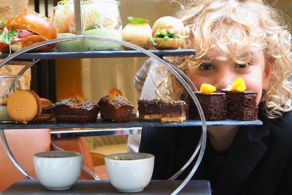 Valrhona chooclate High Tea at the Cortile, Intercontinental Sydney