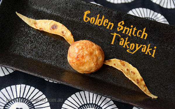 Golden Snitch Takoyaki