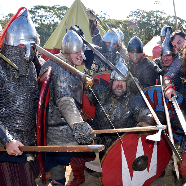 The new varangian guard at St Ives Medieval