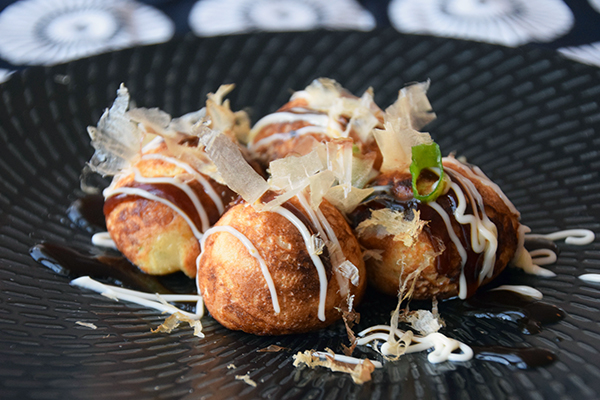 Takoyaki - Japanese Octopus Balls recipe