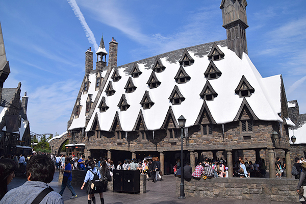 Hogsmeade at Universal Studios Japan