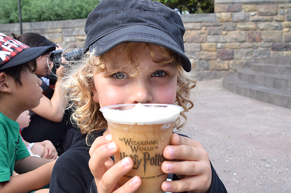 BUtterbeer at The Wizarding World of Harry Potter Osaka