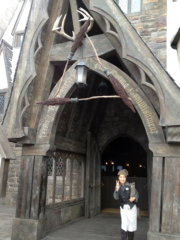 The Three Broomsticks at Universal Studios Japan