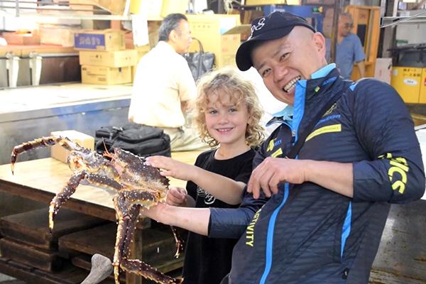 Raffles & Chef Oba at Tsukiji Market Tokyo