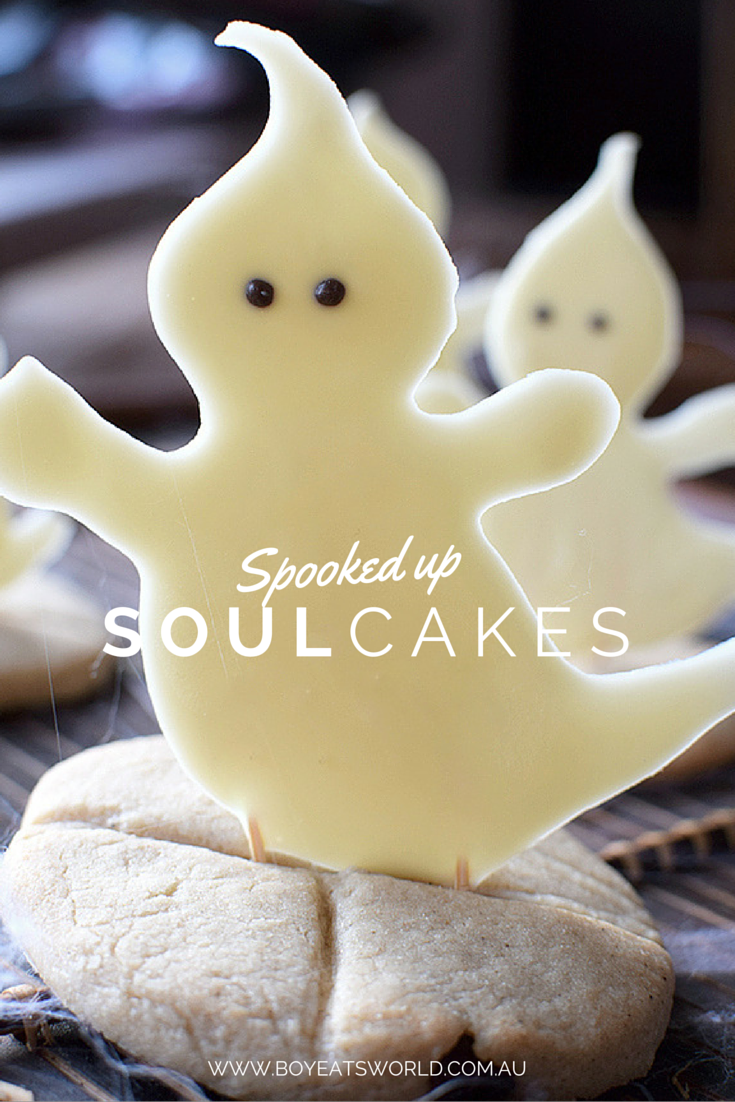 Spooked up soul cakes for Halloween