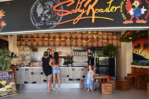 Salty Rooster at Manly