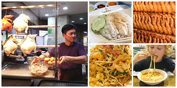 Tasty delights at Lau Pa Sat, Singapore. The historic Hawker Market has earned a TripAdvisor Certificate of Excellence #Traveltotaste