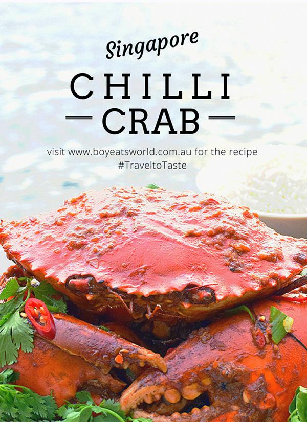 SIngapore Chilli Crab #TraveltoTAste