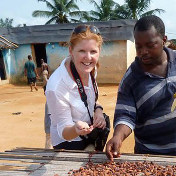 Bound Round's Janeece in Africa