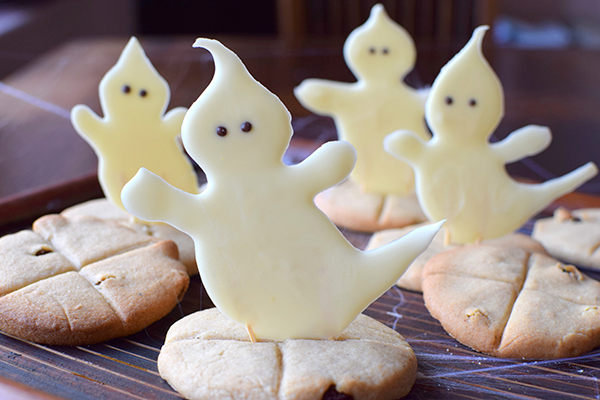 SOul cakes with a ghostly twist