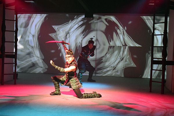 The live-action extravaganza at Ninja Kyoto