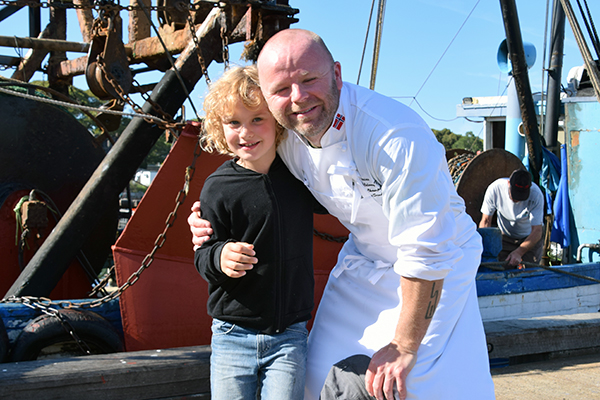 Raffles and Norway's Superstar Chef Erling Sundal