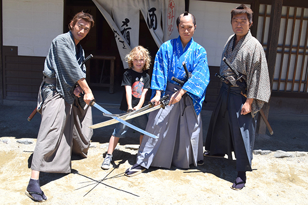 Raffles gets in on the Edo action at Teio Movie Park Kyoto