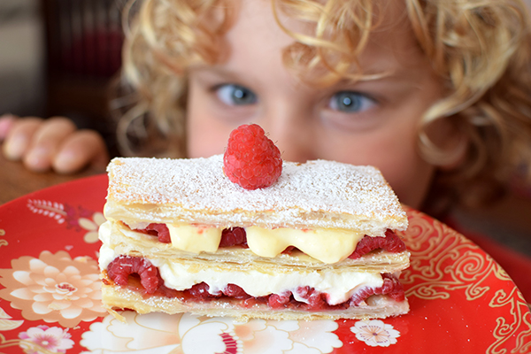 Raspberry Napoleon Recipe