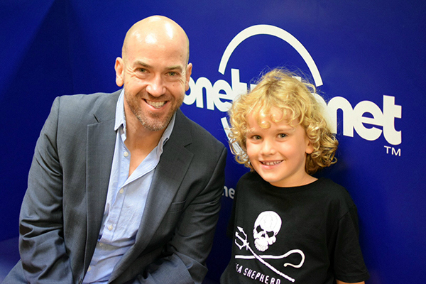 Raff and Lonely Planet's Chris Zeiher