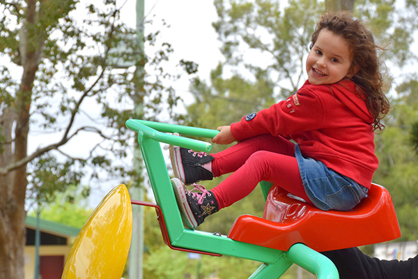 Picnic Point Playground Fun in Toowoomba with Kids